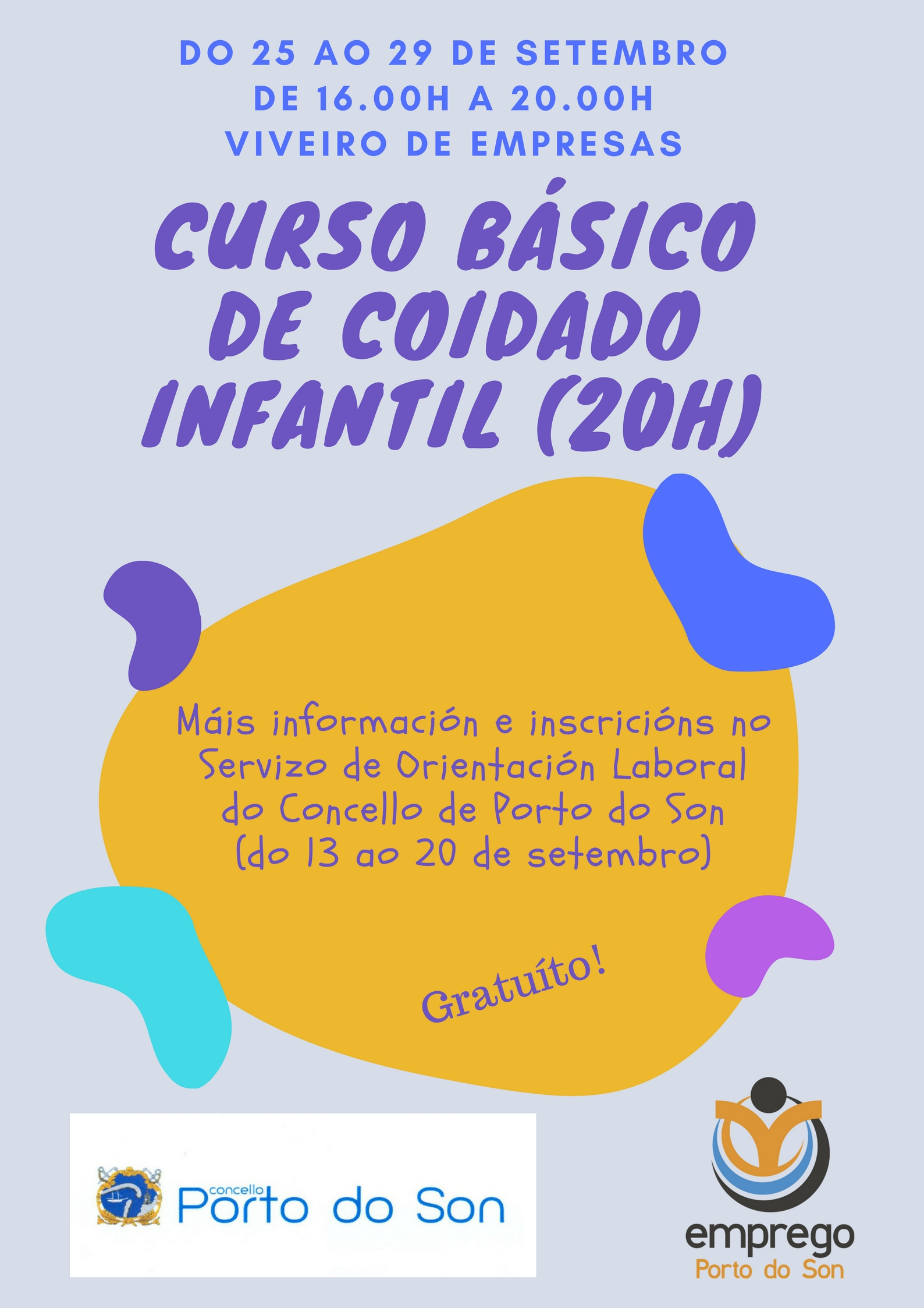 curso básico de coidado infantil (20H)