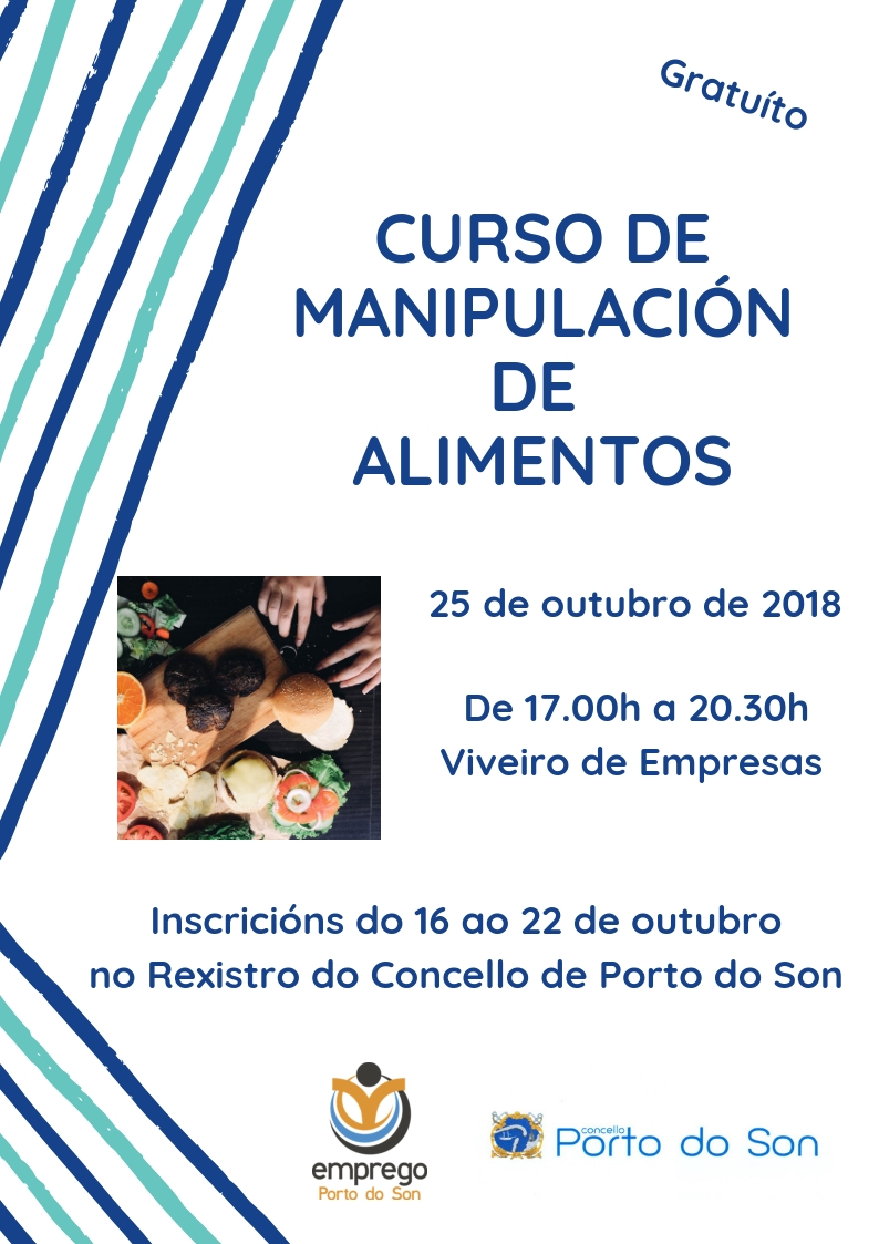 CURSO DE MANIPULACIÓN DE ALIMENTOS out 2018