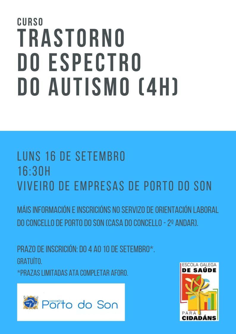 trastorno do espectro do autismo (4h)