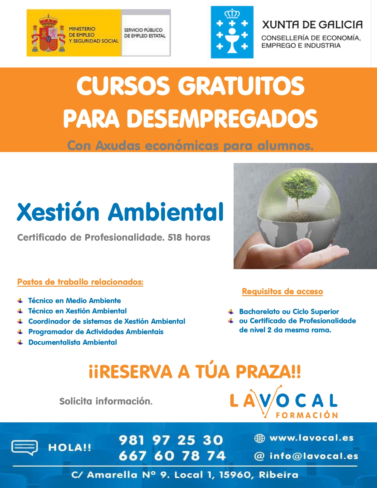 Xestión ambiental cartel 2