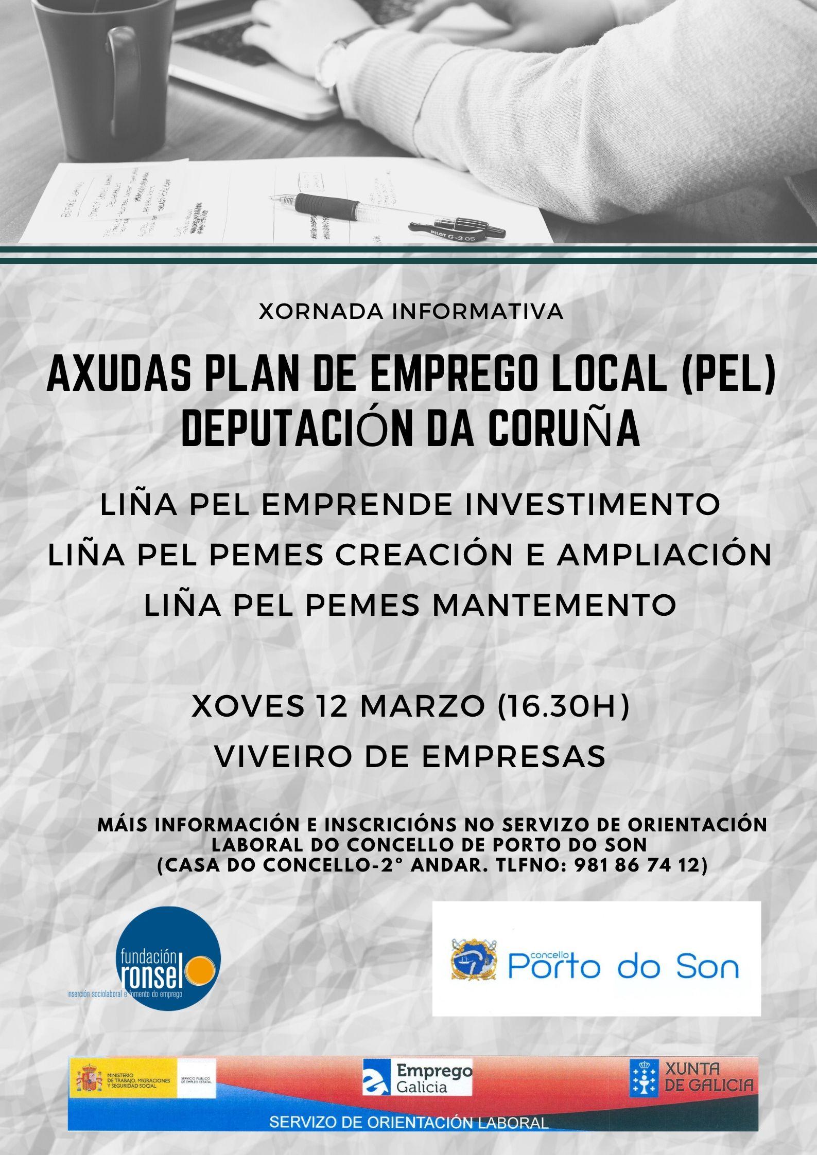 cartel xornada informativa PEL 2020