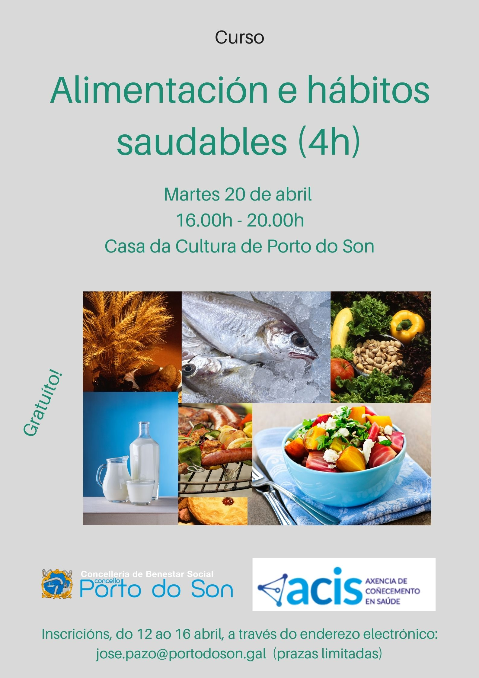 cartel alimentación saudable abril 2021