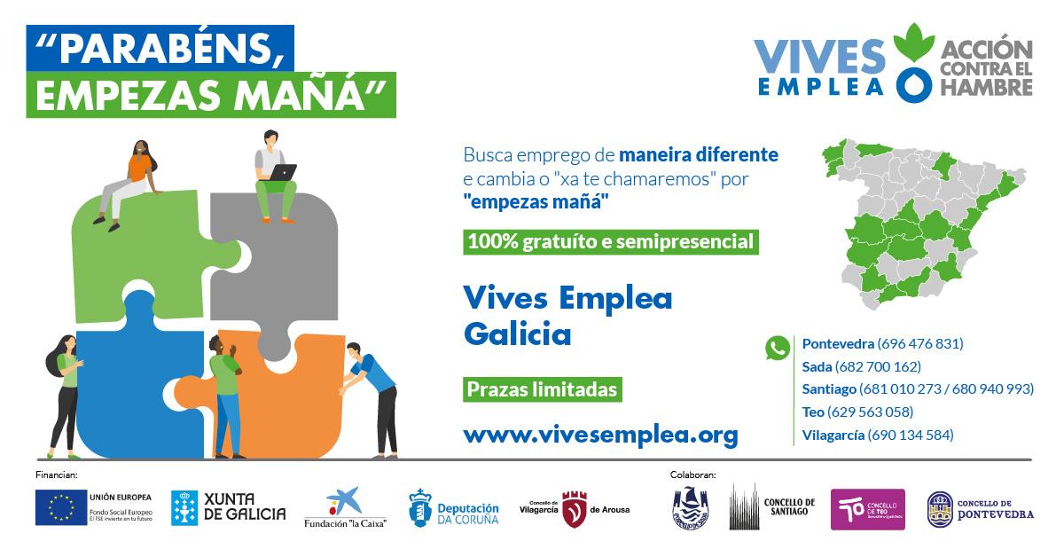 cartel_Vives Emplea Galicia